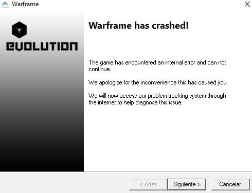 Door Of The Quills Crash Pc Bugs Warframe Forums