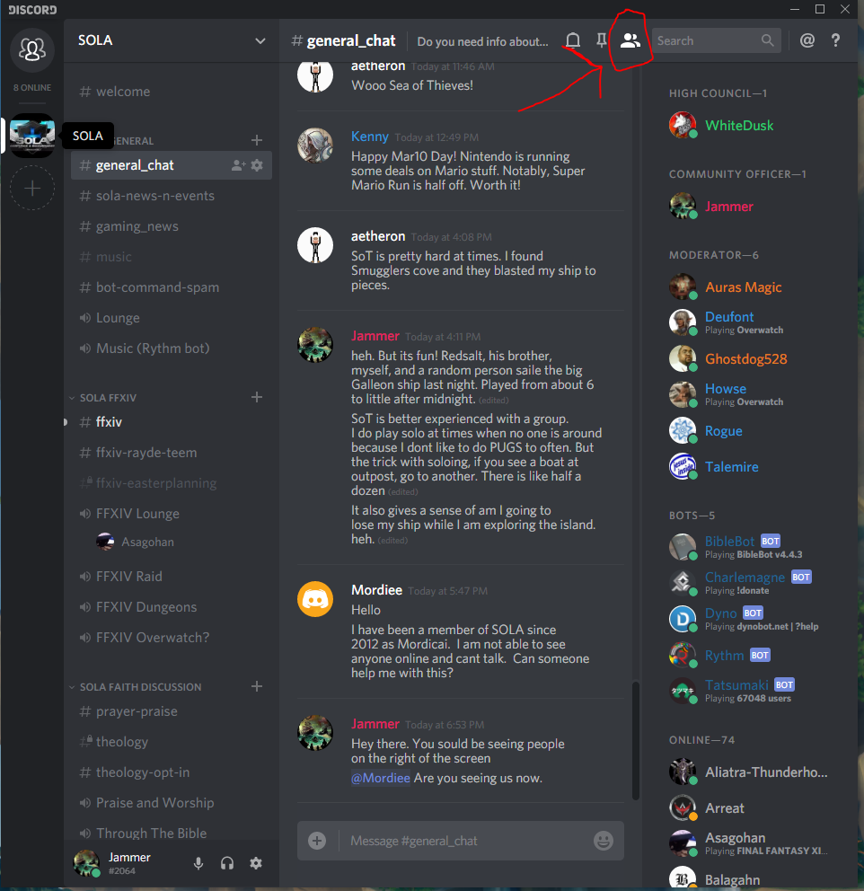 Bdo Server Chat Command