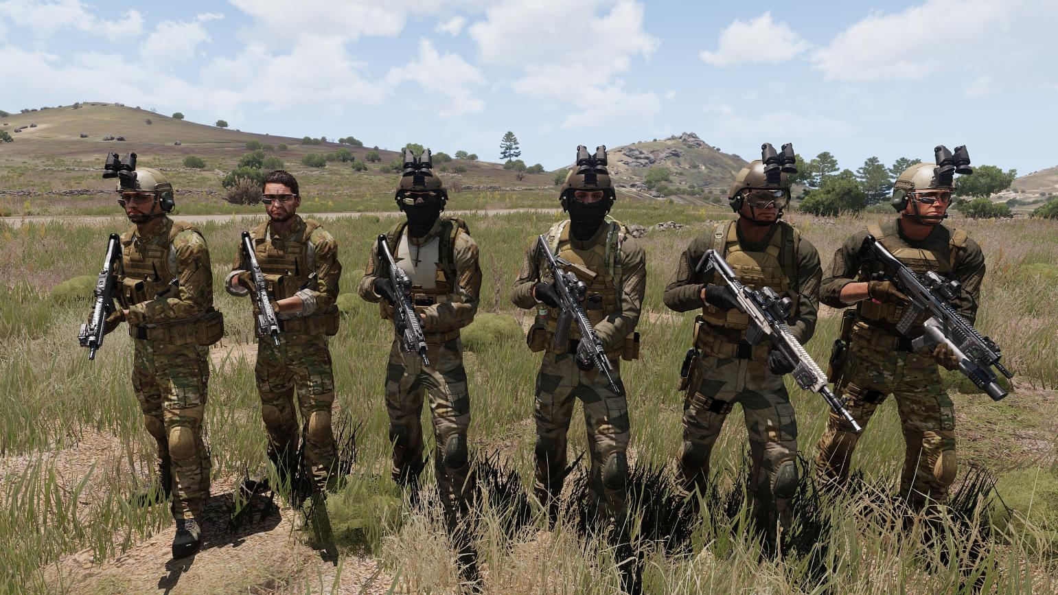NATO REPLACEMENT UNIFORM PACK - PROJECT ZENITH - ARMA 3 - ADDONS