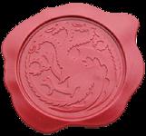 Correspondance entre le Dragon de L'Est et le seigneur Hippocampe Sceau01