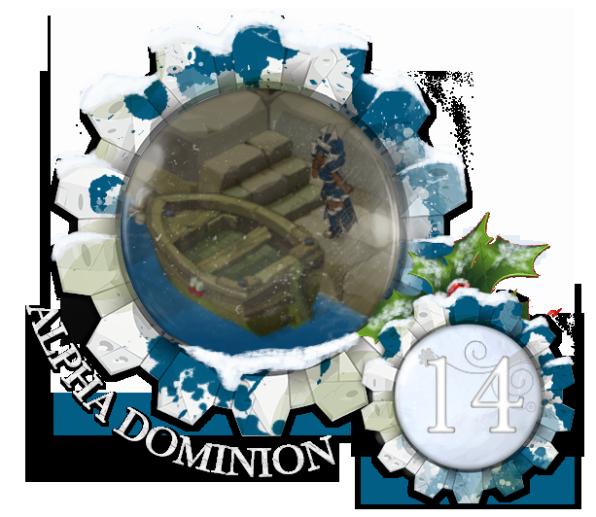 Calendrier de L'Avent Dominion - Edition 2017 Noel14