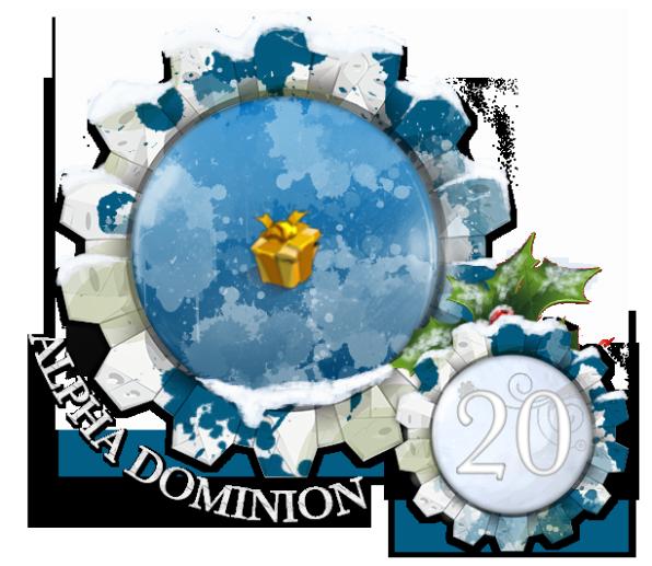 Calendrier de L'Avent Dominion - Edition 2017 Noel20
