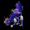 El Agachapien (criatura de hace un año que porfin sale a la luz) mas una nueva version superfuerte/remake Agachapien_2