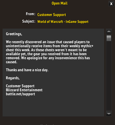 Mythic Cache fixed allready - World of Warcraft Forums