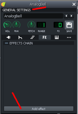Double Click Dialog Box for FX Channel in Plugin Settings