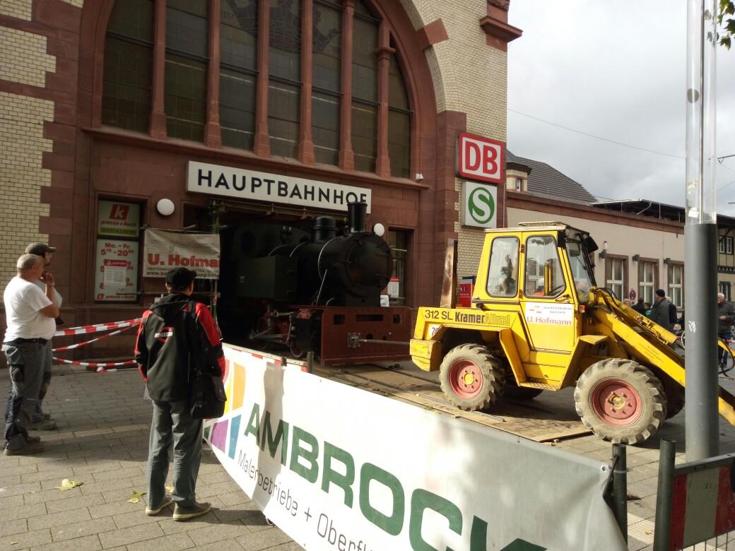 "Lok 1 "" Friedrich"", ehem. Lok der Hasper Hütte auf dem Wittener Hauptbahnhof IMG_20171013_133440"