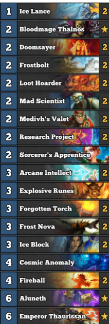 Legend with Aggro Freeze Mage! - A comprehensive guide -