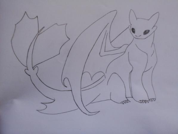 Can Anyone Draw Night Fury School Of Dragons How To Train Your