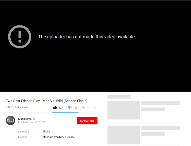 4c27783bc18f0 Old Machinima videos are now being made unavailable   TwoBestFriendsPlay