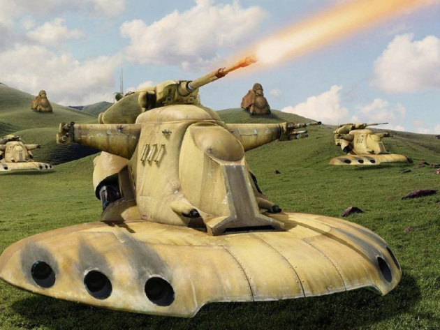 Armored Assault Tank [AAT] [Star Wars] [♫] Unknown