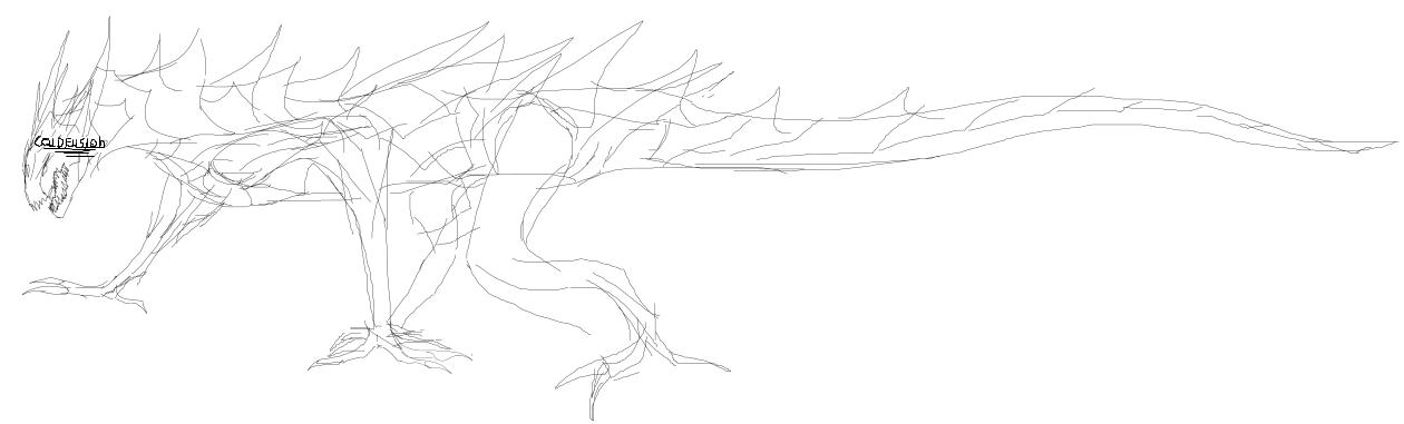 Devoratrix Solis Occasum (Dragoon khaoosiano) [Dibujo] Unknown