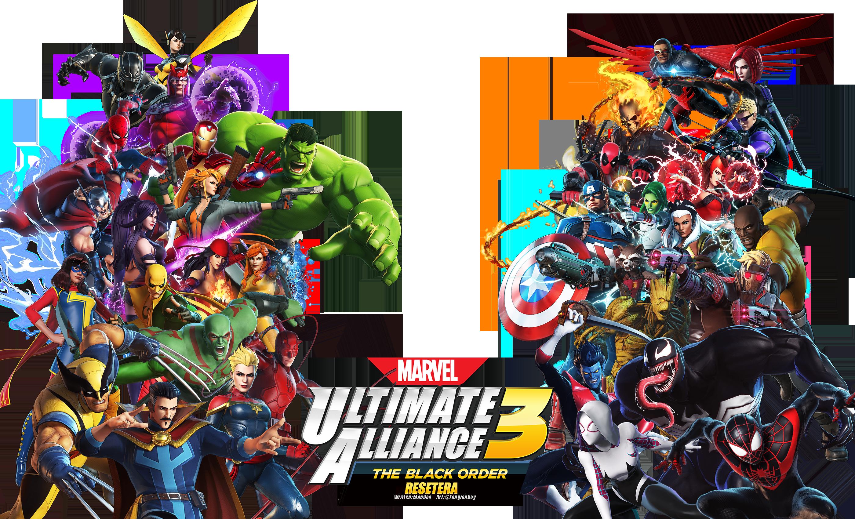 Marvel Ultimate Alliance 3 The Black Order Ot Marvel S Knights