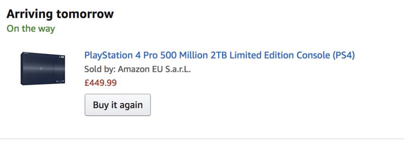 playstation 4 500 million edition amazon