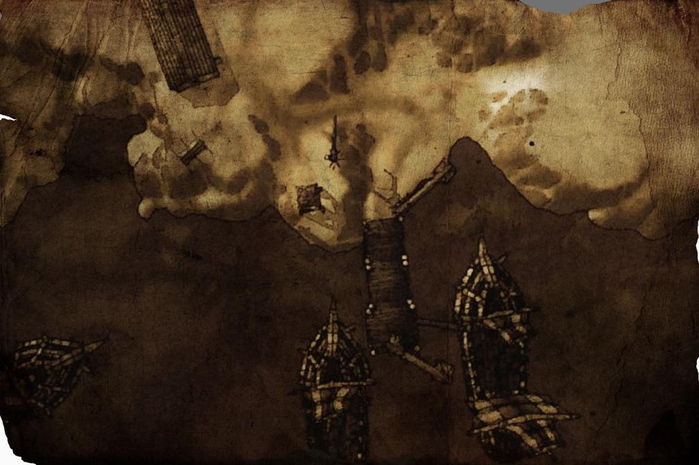 [Le Trésor de l'Augure] La Crique des Mirages : Élucubrations éthyliques  Carteeldared