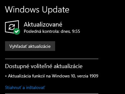 Windows 10 - Všeobecná téma