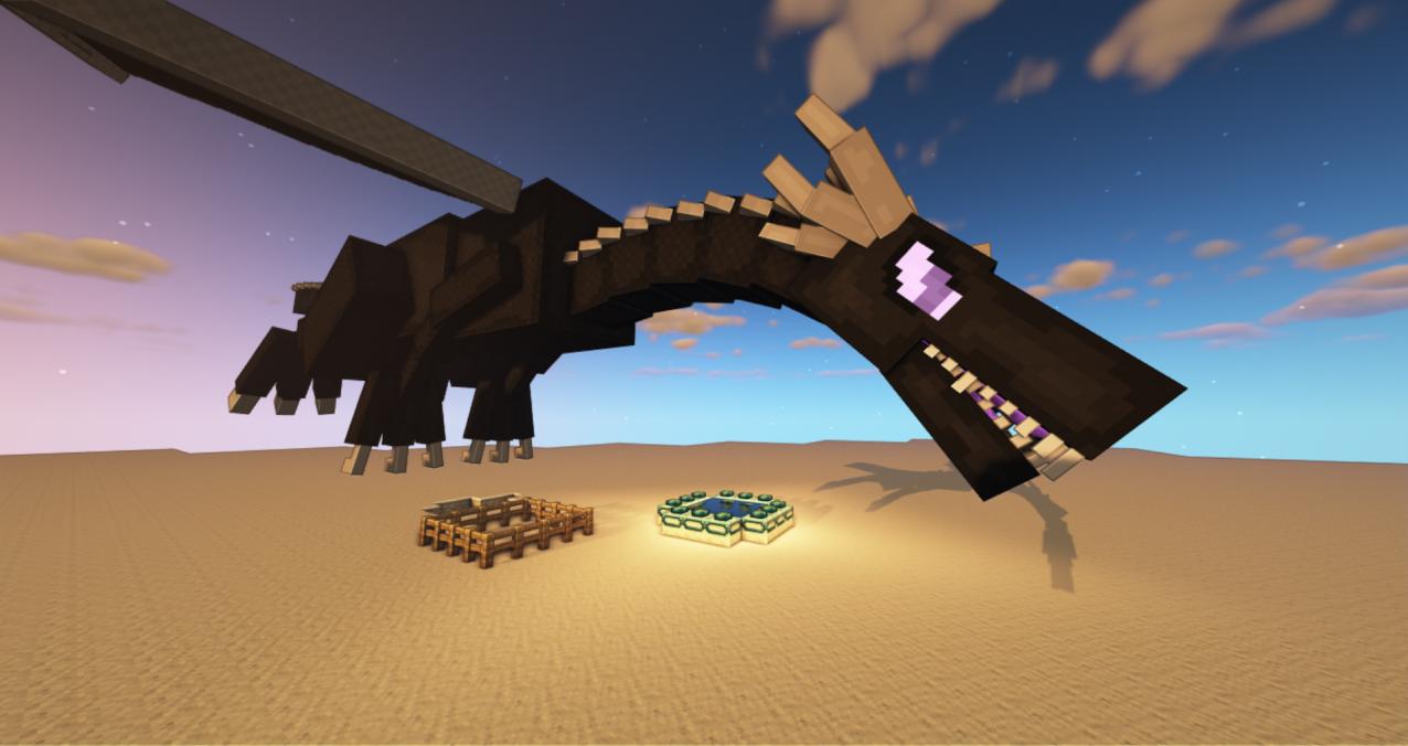 Ender Dragon Reforged Resource Packs Minecraft CurseForge