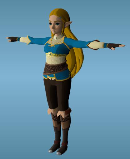 94d8762dd6 BotW: Zelda is well on her way to being playable. (WilianZilv ...