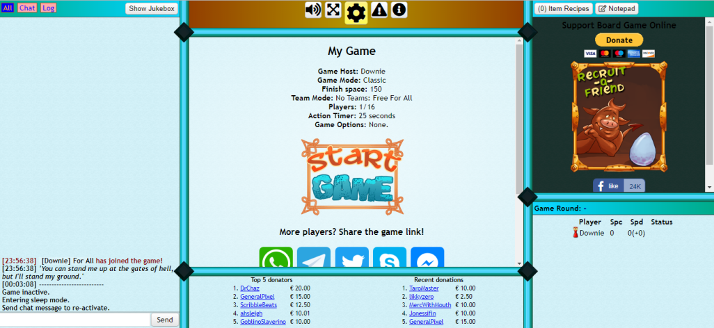 Share Your Color Scheme Themes! - Board Game Online Forum
