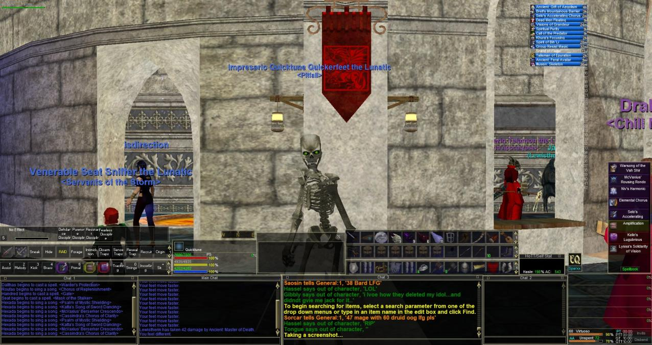 Muse/Impresario Title not available on Agnarr | Page 2 | EverQuest