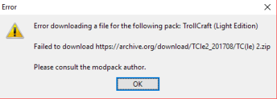 Error Downloading the modpack - Technic Launcher - Technic Forums