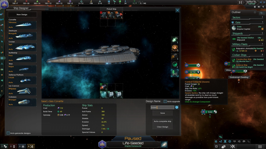 Best ship and fleet designs for 2 2? | Paradox Interactive Forums