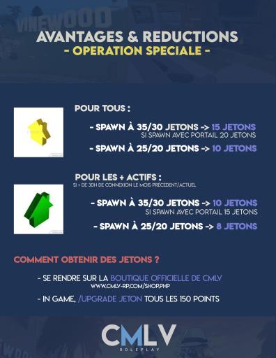 Avantages et réductions, opération spéciale ! Operation-speciale-spawn-in-game