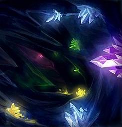 Sol Au'Berran Crystal_Cave_SWGTCG