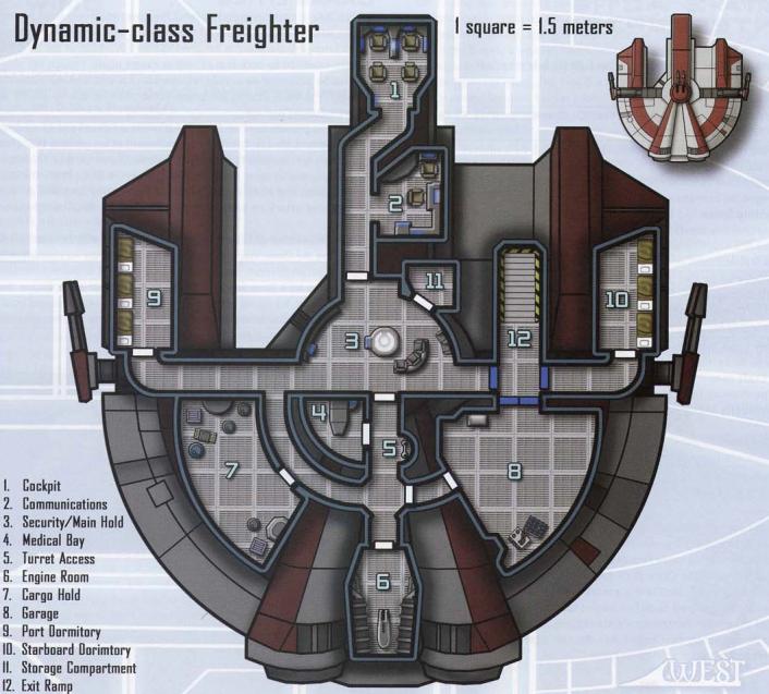 Sol's Crew űrhajója Dynamic-class_1