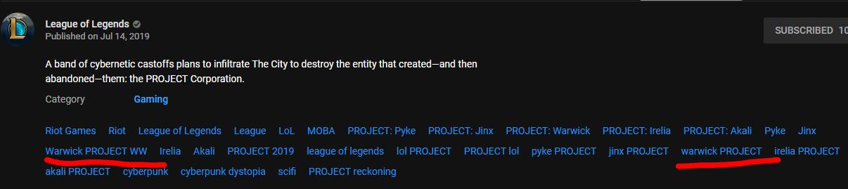 Project Skins Trailer Video : leagueoflegends