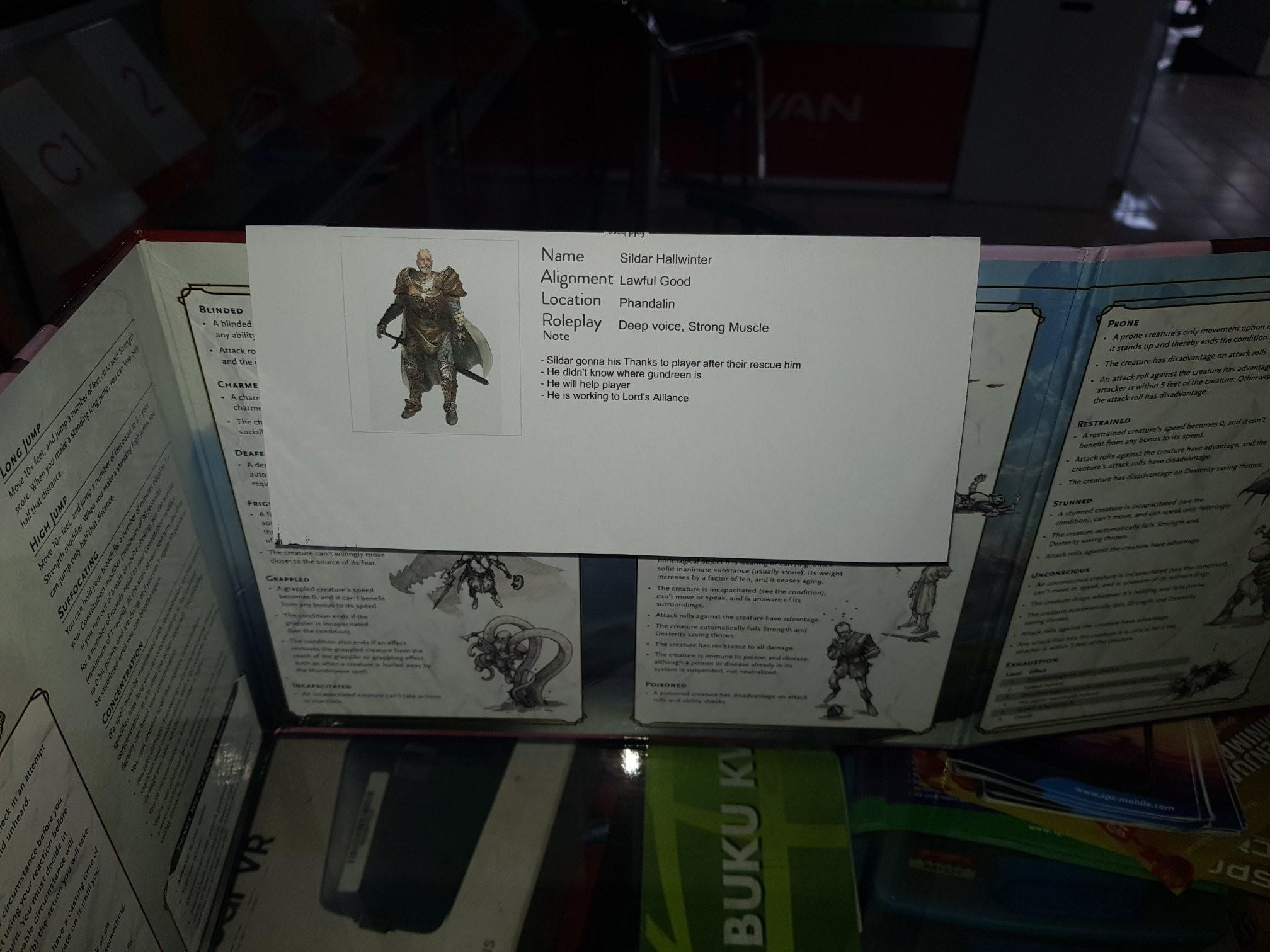 photo regarding Printable Dm Screen titled Fillable Printable NPC Portrait for DM Display screen