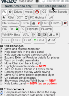 waze com • View topic - [Script] WME Fix UI v2 29 -- 2019-07-08