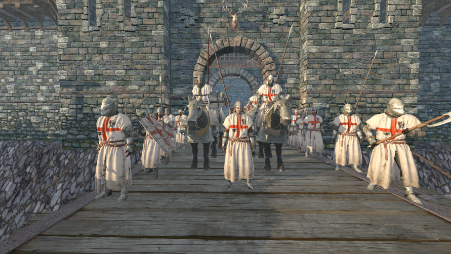 Life is Feudal • View topic -  ☩ Knights Templar ☩  (Deus Vult)