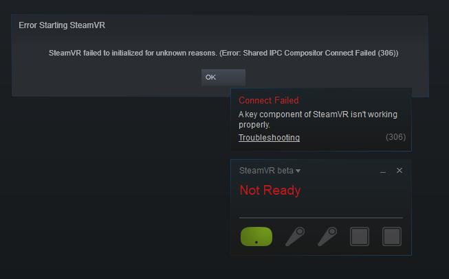 SteamVR Error: