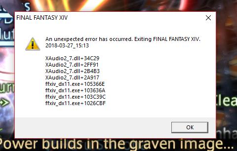 XAudio2 crash