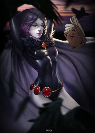 Thara [Tier:3-3/Hazard Rank:E | Race: Danava Demon] Raven_dc_comics_and_1_more_drawn_by_hyun_sung_oh__sample-113071bba59856872039ef5b62e67a66