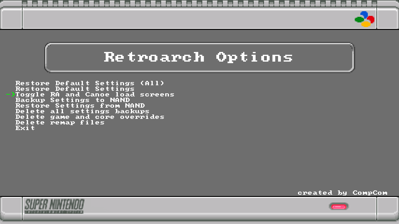 Release] NEW 'Stable' 1 7 1 RetroArch Neo and essential