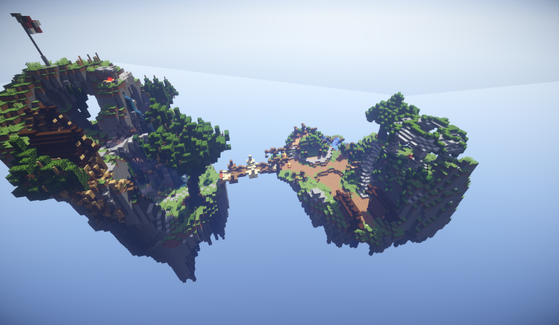 PREMIUM - Double Floating Skyblock Spawn! | NulledBuilds