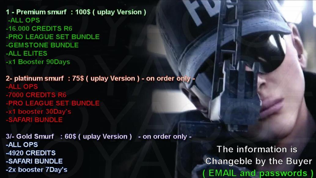 ✅Cheapest & Fastest ✅ Selling Rainbow Six Siege ✔️Credits