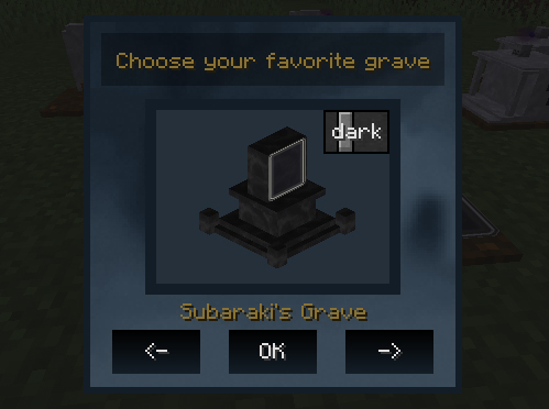 Choose your grave