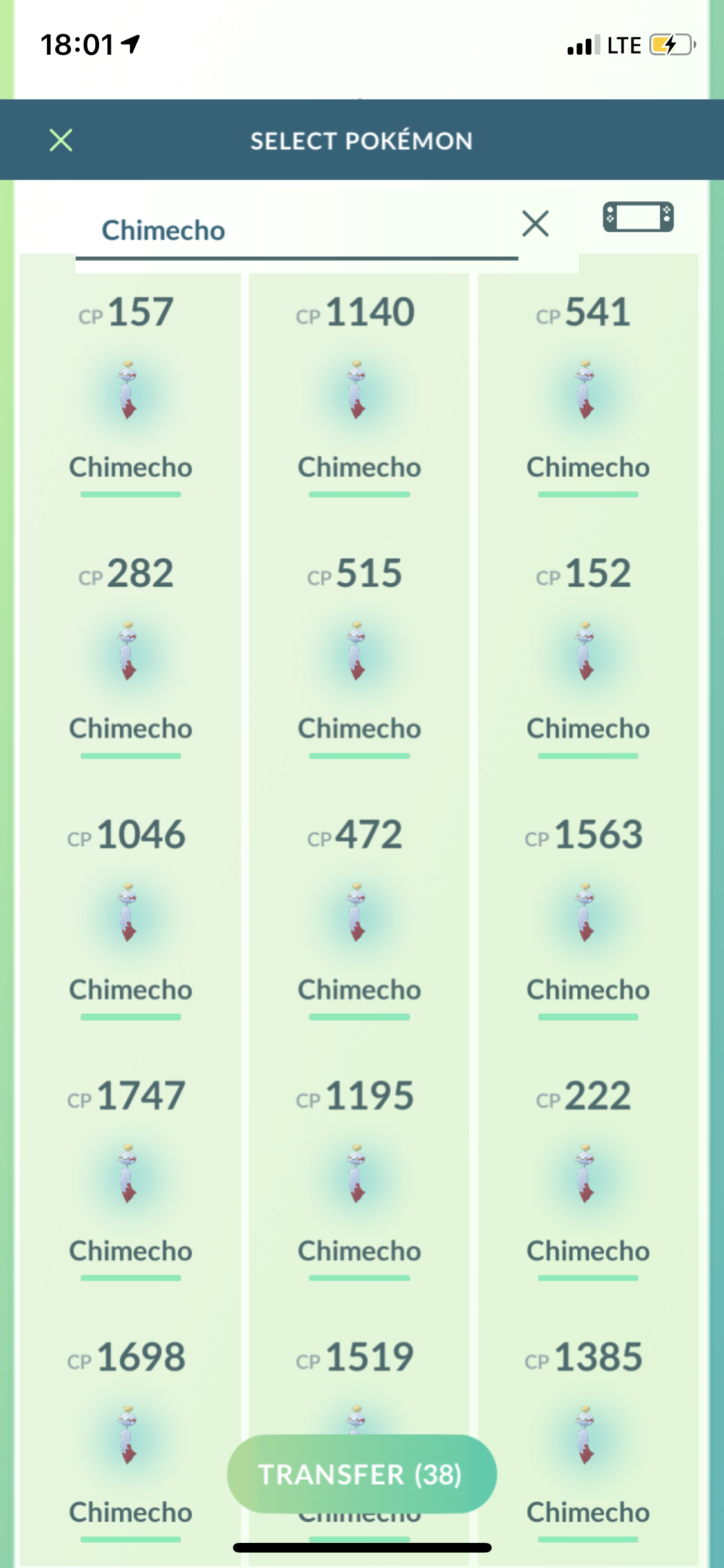 Go Fest Yokohama Tips and Tricks - Lots of Chimecho caught at Go Fest