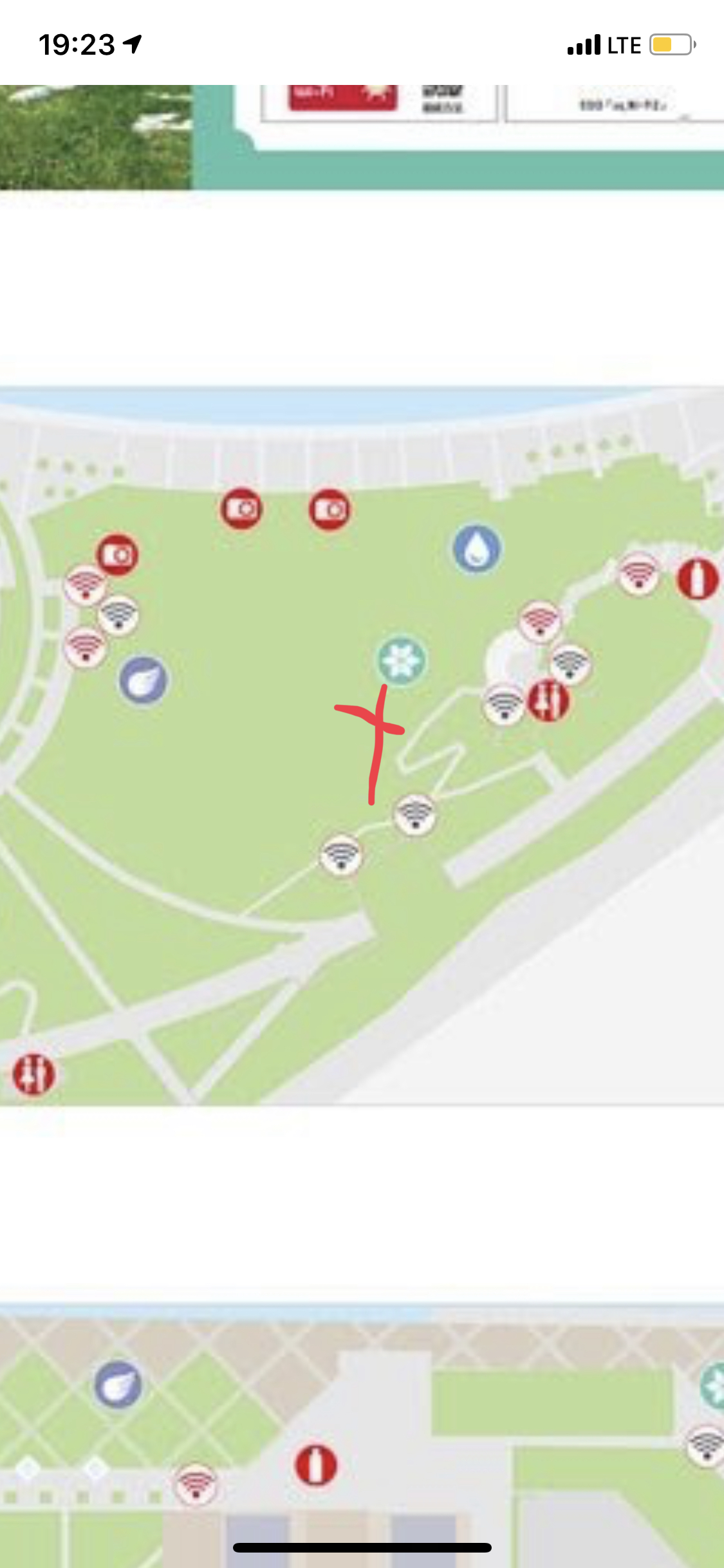 Go Fest Yokohama Tips and Tricks - Location of the big trees - a great farming location