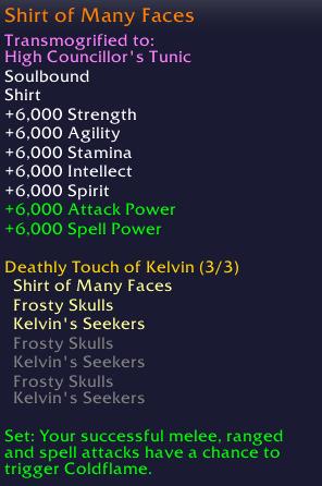 Kelvin's Shirt