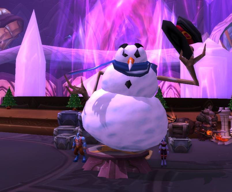 Playful Snowman