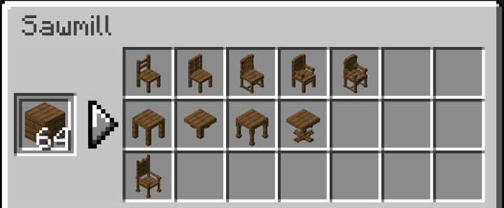 Tables and Chairs V4.0  [ 1.16 + ] - MAJOR Update - Complete Re-write Minecraft Data Pack