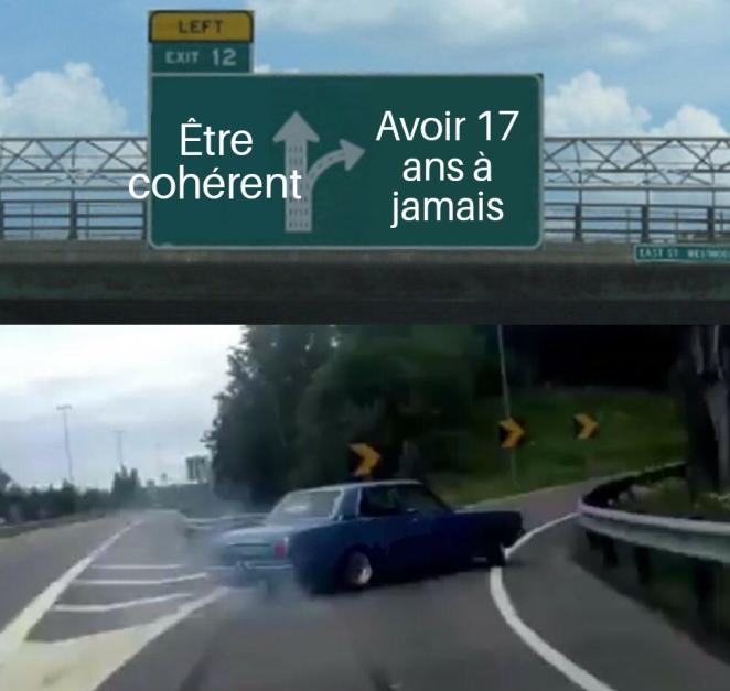 Prank : CA TOURNE MAL  Highway_Exit_Drift_06072018002211