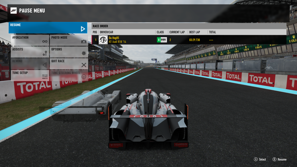 TORA 24 Hours of Le Mans - Rule 5.5 - LMP1 drivers must run a sub 3:30 lap - Page 4 Forza_Motorsport_7