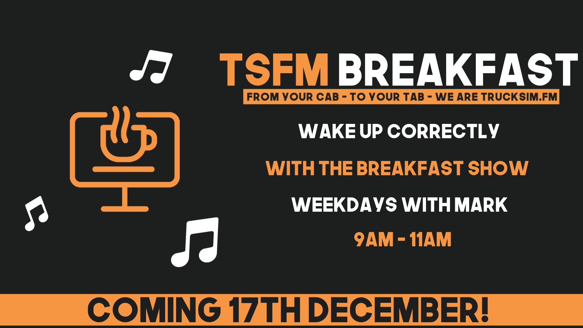 TruckSimFM Breakfast