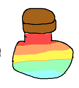Rainbow Colour-Changing Potion