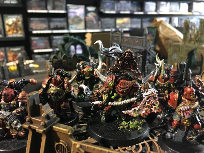 Death Guard Kill Team Ready To Go Glory To Grandfather Nurgle