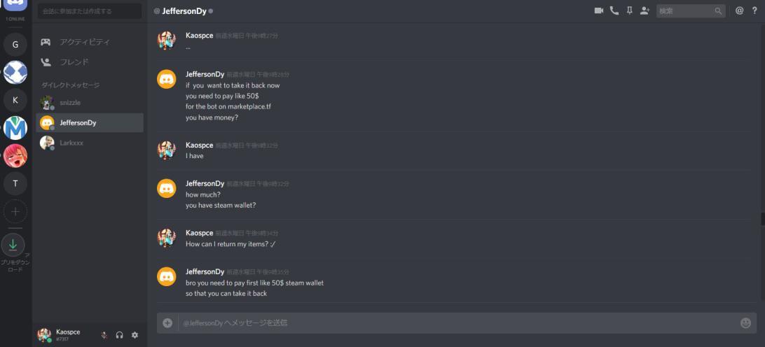 Invalid - Report: 76561198219949456 - ([TF2] Team Fortress 2 Items